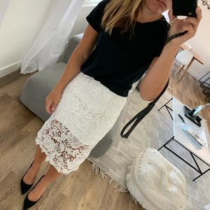 LACE SKIRT H&M SIZE US6